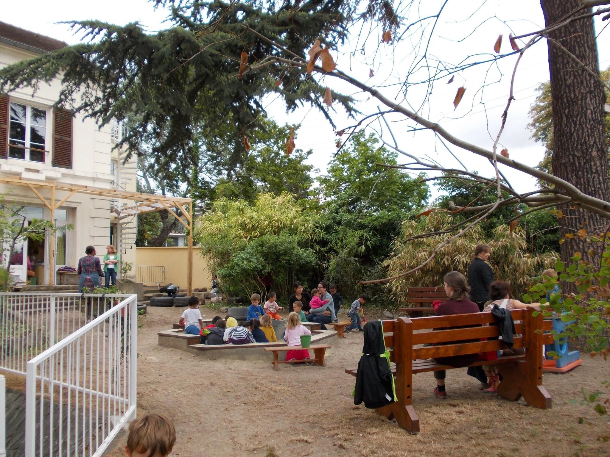 D But Des Travaux Du Jardin D 39 Enfants Cole Perceval
