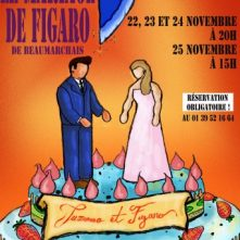 Le Mariage de Figaro AFFICHE